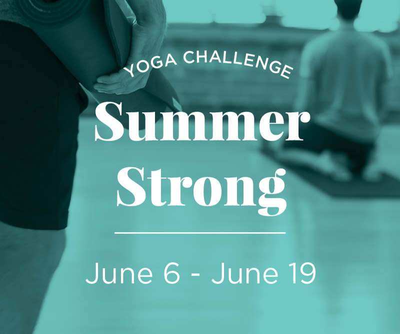 MyYogaWorks Summer Strong Challenge